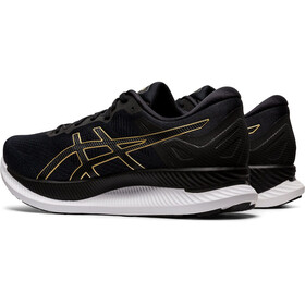 asics Glideride Shoes Men, black/pure gold